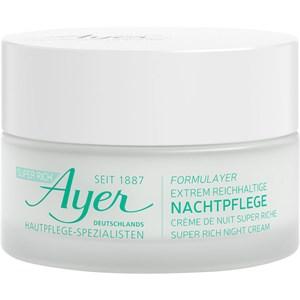 Ayer - Feuchtigkeit - Super Rich Night Cream