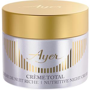 Ayer - Specific Products - Total Cream Nutritive Night Cream