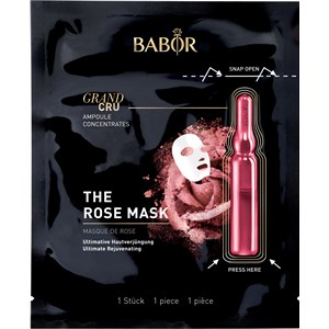BABOR - Ampoule Concentrates - Grand Cru The Rose Mask