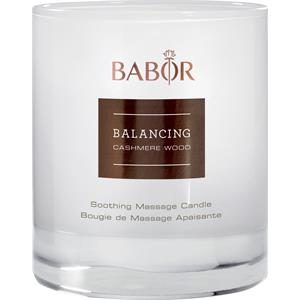 BABOR - Balancing Cashmere Wood - Soothing Masage Candle