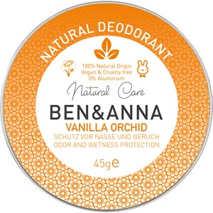 BEN&ANNA - Deodorant cream - Natural Deodorant Creme Vanilla Orchid
