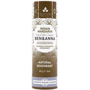 Image of BEN&ANNA Pflege Deodorant PaperStick Natural Deodorant Stick Indian Mandarine 60 g