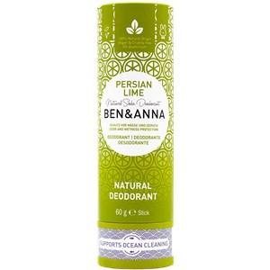 BEN&ANNA - Deodorant PaperStick - Natural Deodorant Stick Persian Lime