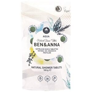 BEN&ANNA - Body and hair - Natürliche Dusch - Tabletten Aqua