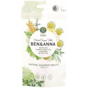 BEN&ANNA - Body and hair - Natürliche Shampoo - Tabletten Tonic