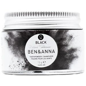 BEN&ANNA - Toothpaste in a glass - Toothpowder Black