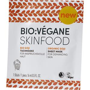 BIO:VÉGANE - Bio Goji - Cloth mask