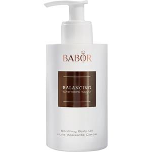 BABOR - Balancing Cashmere Wood - Soothing Body Oil