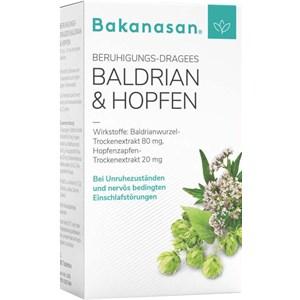 Image of Bakanasan Gesundheitsprodukte Beruhigung und Nervenkraft Beruhigungs-Dragees Baldrian & Hopfen 80 Stk.