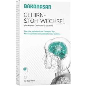 Image of Bakanasan Gesundheitsprodukte Beruhigung und Nervenkraft Gehirnstoffwechsel 32 Stk.