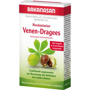 Bakanasan - The Cardio-Vascular System and Circulation - Horse Chestnut Vein Lozenges