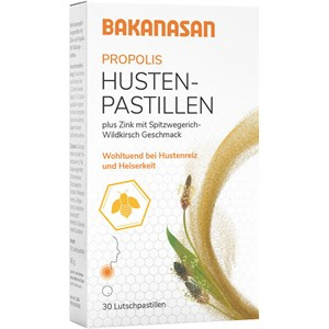 Bakanasan Gesundheitsprodukte Immunsystem und Erkältung Propolis Husten-Pastillen 30 Stk.
