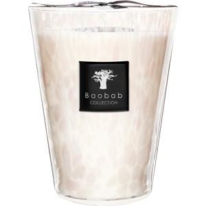 Baobab - Pearls - Duftkerze Pearls White