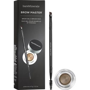 Image of bareMinerals Augen-Make-up Augenbrauen Brow Master Brow Gel & Brush Duo Universal Taupe 3 g