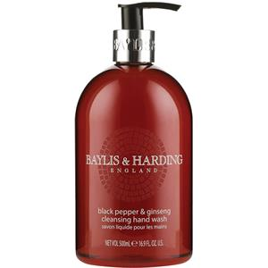 Image of Baylis & Harding Körperpflege Black Pepper & Ginseng Cleansing Hand Wash 500 ml
