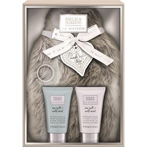 Image of Baylis & Harding Körperpflege La Maison Geschenkset Refreshing Body Cleanser 50 ml + Softening Hand & Body Lotion 50 ml + Wärmflaschenbezug 1 Stk.