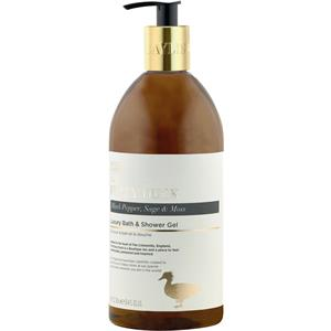 Image of Baylis & Harding Körperpflege The Fuzzy Duck Black Pepper, Sage & Moss Luxury Bath & Shower Gel 750 ml