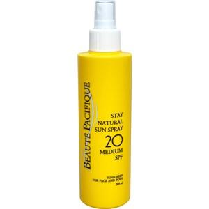 Beauté Pacifique - Sonnenpflege - Stay Natural Sun Spray SPF 20