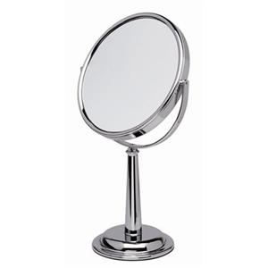 ERBE - Cosmetic mirror - Cosmetic mirror, 5x, polished metal