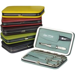 ERBE - Manicure sets - 3-part Lollipop clip-shut manicure case