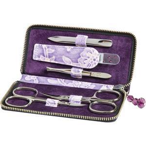 Becker Manicure - Manicure tools - Floris Case, 5-Piece, Purple