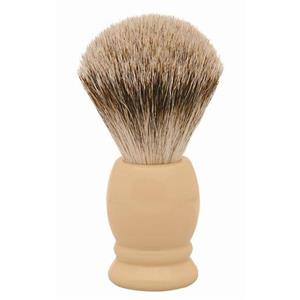 ERBE - Shaving brushes - Badger hair shaving brush, ivory