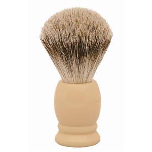 Becker Manicure - Shaving brushes - Badger hair shaving brush, ivory