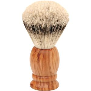 "ERBE - Shaving brushes - ""Olive Wood Silver Tip"" Shaving Brush"
