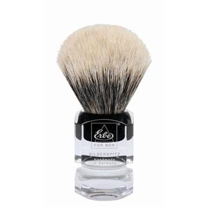 Becker Manicure - Shaving brushes - Silvertip shaving brush, angular plastic handle