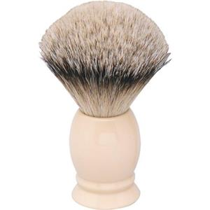 Becker Manicure - Shaving sets - Brush, Ivory Look, Badger Hair