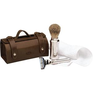 ERBE - Rasiersets - Rasier-Set in Ledertasche, Gillette Mach3