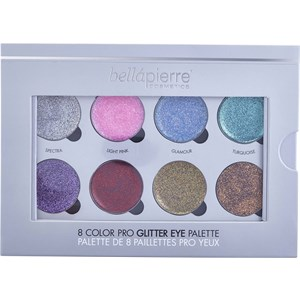 Bellápierre Cosmetics - Eyes - 8 Color Pro Glitter Eye Palette