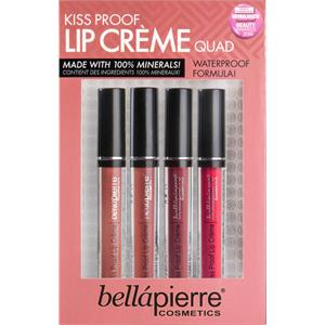 Bellápierre Cosmetics - Labios - Kiss Proof Lip Cremes Quad