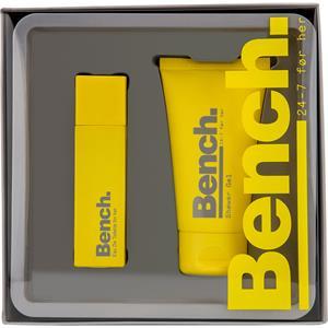 Bench. Damendüfte 24 7 Women Geschenkset Eau de Toilette Spray 30 ml + Shower Gel 75 ml 1 Stk.