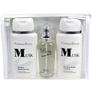 Image of Bettina Barty Damendüfte Musk Geschenkset Hand & Bodylotion 150 ml + Body & Shower Gel 150 ml + Eau de Toilette Spray 50 ml 1 Stk.