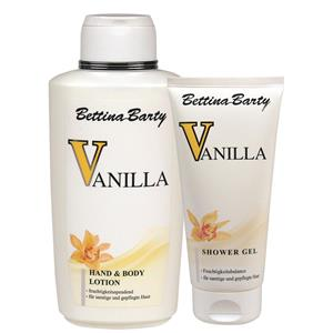 Bettina Barty Damendüfte Vanilla Geschenkset Hand & Body Lotion 500 ml + Bath & Shower Gel 150 ml 1 Stk.