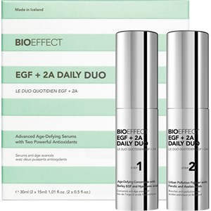 BioEffect - Ansigtspleje - EGF + 2A Daily Duo