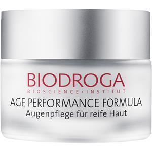 Image of Biodroga Anti-Aging Pflege Age Performance Formula Augenpflege für reife Haut 15 ml