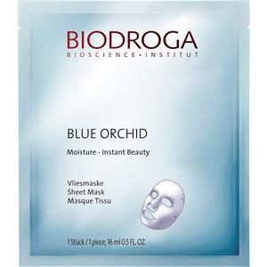 Biodroga - Blue Orchid - Moisture Instant Beauty Sheet Mask