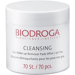 Biodroga - Cleansing - Eye Make-up Remover Pads