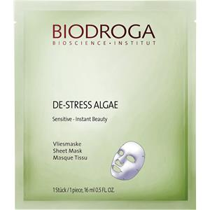 Biodroga - Effect Care - De-Stress Algae Sensitive Instant Beauty Sheet Mask