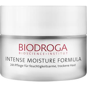 Biodroga - Intense Moisture Formula - Soin 24h pour peau déshydratée, sèche