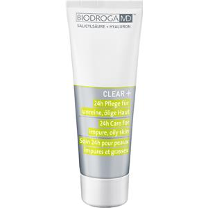 Biodroga MD - Clear+ - 24h Pflege für unreine, ölige Haut