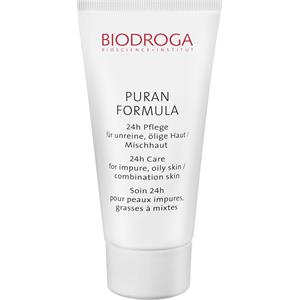 Biodroga - Puran formula - 24h Care for Impure, Oily Skin/Combination Skin