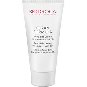 Biodroga - Puran Formula - Crème Acno-Lift pour peau acnéique 25+