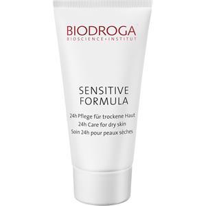 Biodroga - Sensitive Formula - Soin 24h pour peau sèche