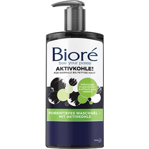 Bioré - Gesichtspflege - Aktivkohle Porentiefes Waschgel