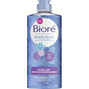 Bioré - Gesichtspflege - Blaue Agave + Backpulver Mizellen-Reinigungswasser