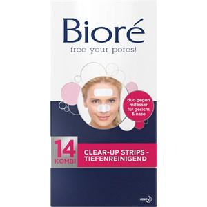 Bioré - Gesichtspflege - Kombi Clear-Up Strips Tiefenreingend