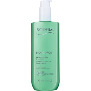 Biotherm - Biosource - Purifying & Make-up Removing Milk für normale und Mischhaut